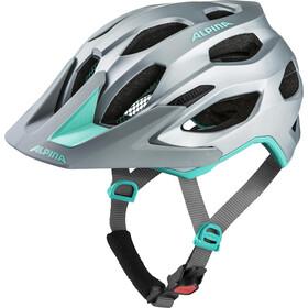 Alpina Carapax 2.0 Pyöräilykypärä , harmaa/turkoosi